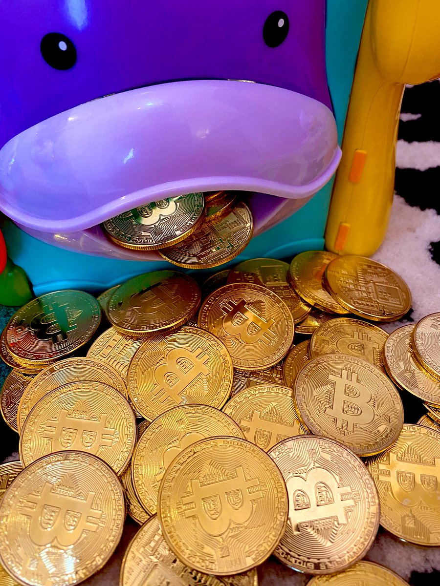 仮想通貨が上昇して来て盛り上がっているようだね。娘はBTCが安い頃から現物で大量保有していた様です。流石、我が娘。このコインは良い事をした時に1枚ずつあげて、貯まったら好きな物に交換できるようにとお父さんが用意してるものだから、根こそぎパクってきたらダメだよ……