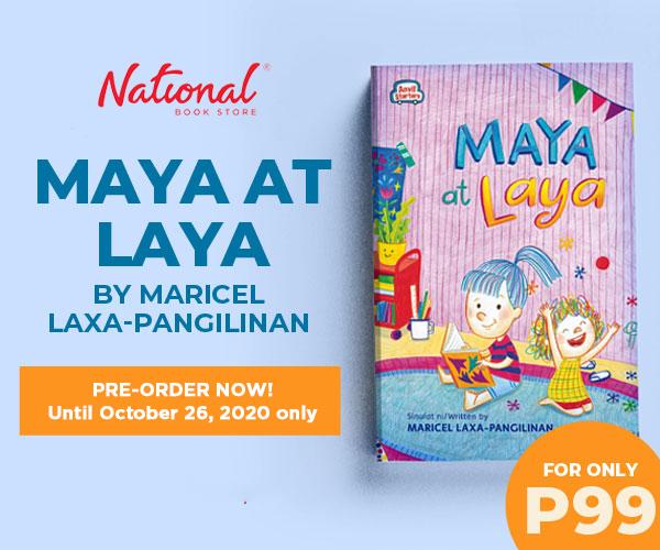 Pre-order Maya at Laya by Maricel Laxa-Pangilinan for only P99: . #MayaAtLaya #NBSNewReads #NBSeveryday