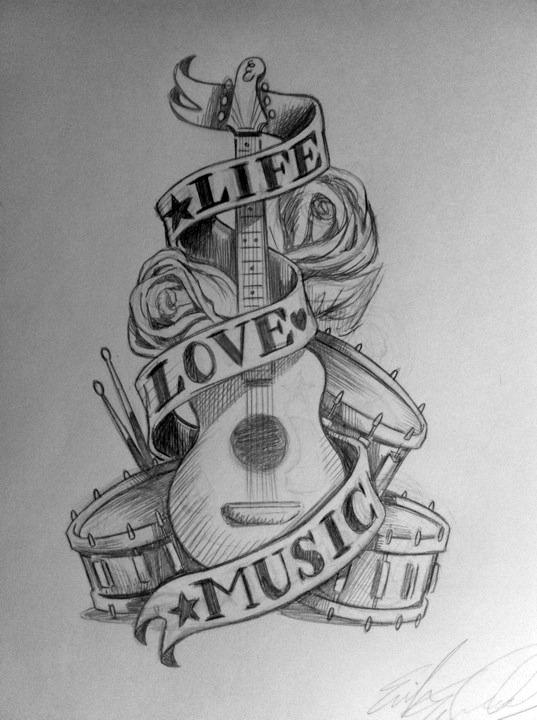 Guitar Tattoos Ideas #3 - https://t.co/f9trgkHGnn via @Planetoftattoos #planettattoos https://t.co/5yiKgQCFBW