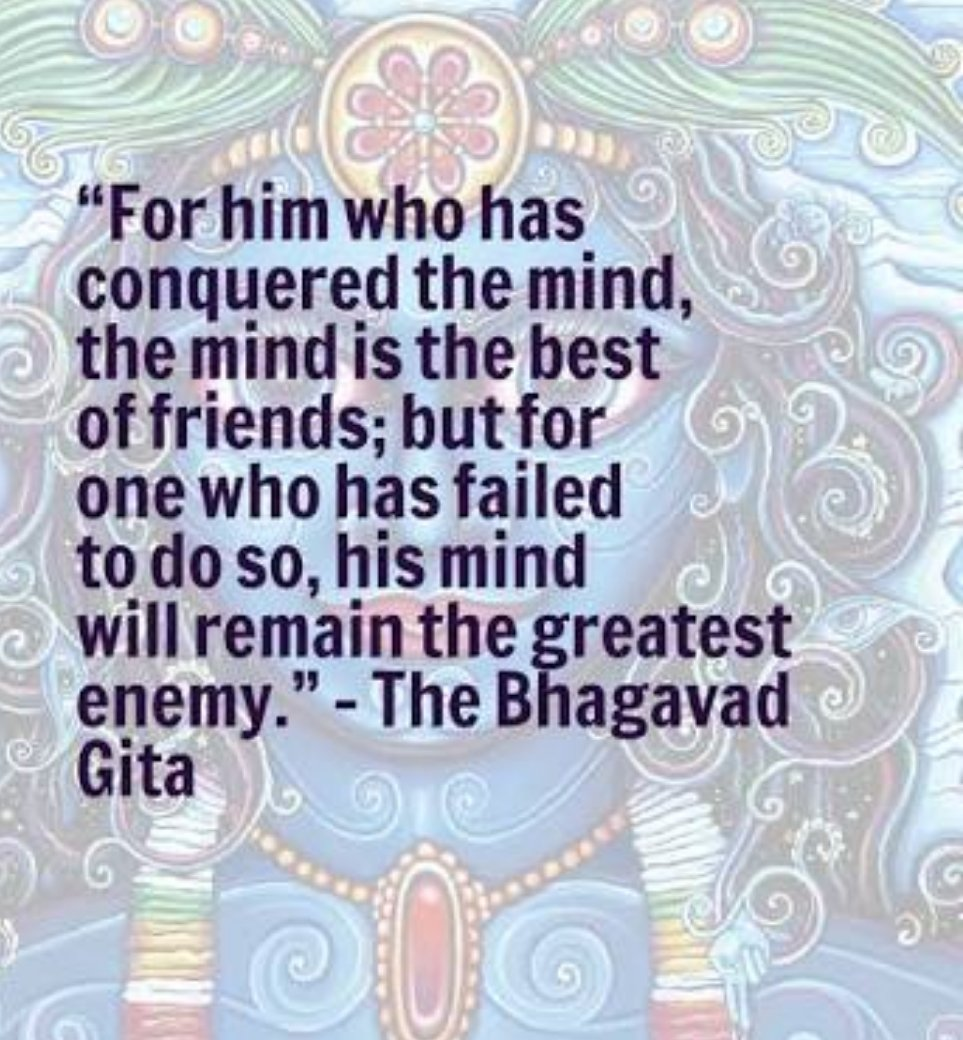 One's mind is the  best slave but the worst master. So the one who has controlled one's mind fully and become the master of it ,for them the mind works wonder .  #LifeChangingTips #InspirationalQuotes #Leadership  #success  #Mindset  #enlightenment https://t.co/ADPEQ2PjKv