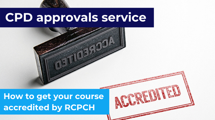 As part of our accreditation programme, RCPCH CPD approval is a recognised mark of quality for your live educational event. Find out how to get your course accredited: https://t.co/lRuUWrQ7op https://t.co/LaaS5LOCSG