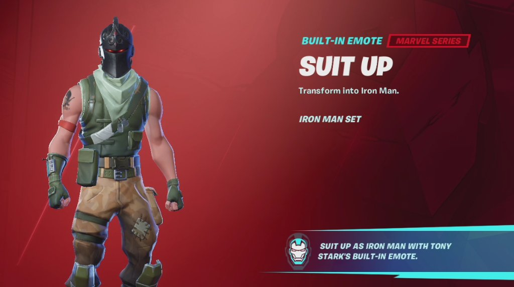 Trying SUIT UP Glitch on Lot of Skins ( Iron Man Emote ) https://t.co/ff4jkpkZcG via @YouTube  #fortnite #glitch #suitup #ironman https://t.co/qgvsRRYhXH