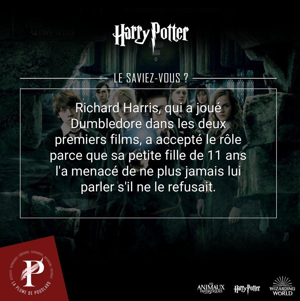 [Le saviez-vous ?]  Retrouvez toutes les semaines sur La Plume de Poudlard des anecdotes sur le monde d'Harry Potter et des Animaux Fantastiques.  Pour + de fun, rejoignez-nous sur :  - Discord : https://t.co/9agJxdRNhb  - Instagram : https://t.co/q2mznls8bm  - Twitter : … https://t.co/LXwDV0gdBB