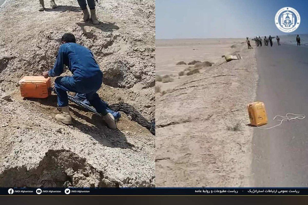 4 roadside bombs were neutralized in #Herat & #Nimruz, @moiafghanistan said. #Afghanistan #ANP