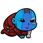 Image for the Tweet beginning: Is she a ruthless cyborg?  #guardiansofthegalaxy