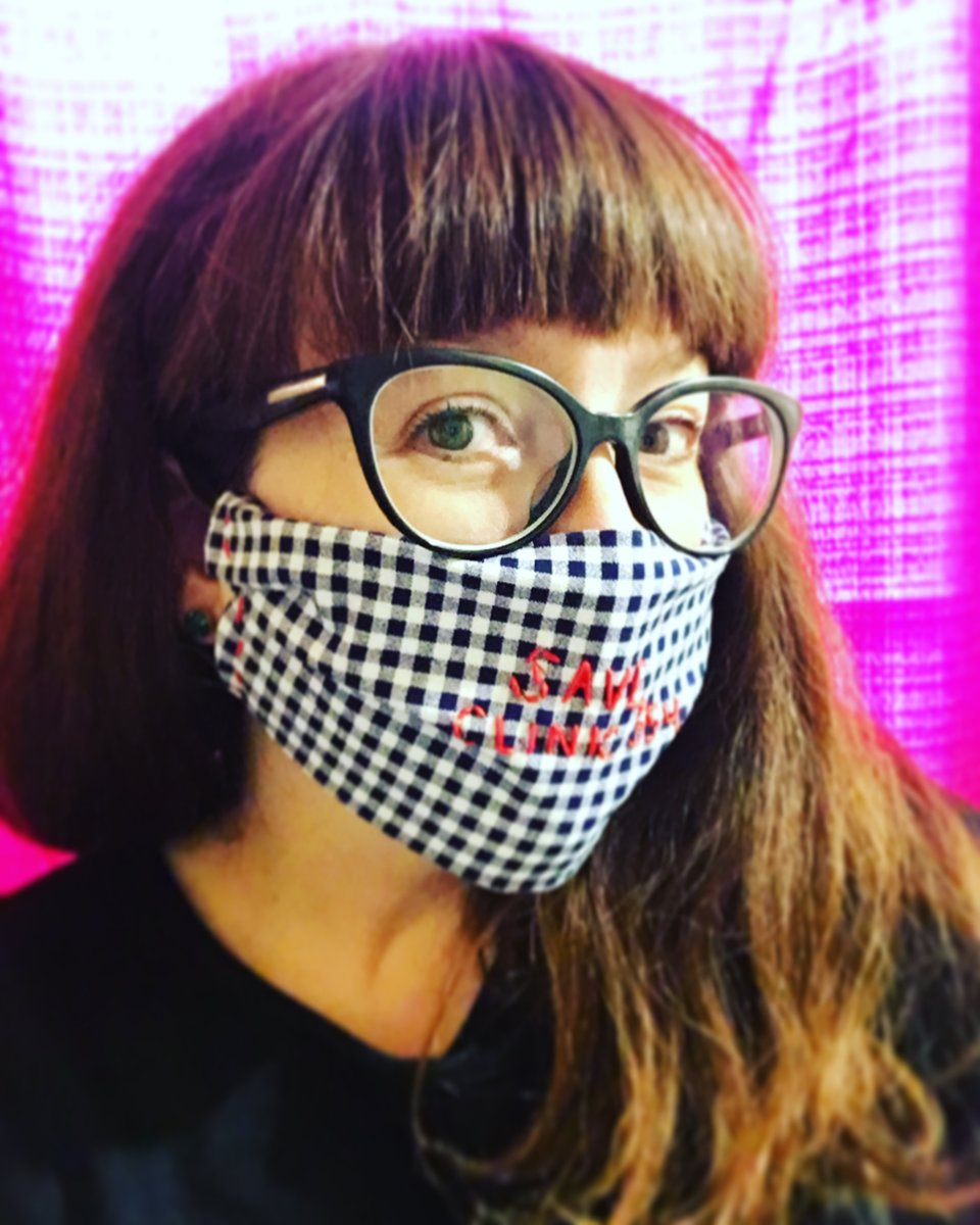 """I'm excited for tonight's @SwellPride #zine #analysis party & discussion of our next art practice, #DIY #facemasks that take up the prompt, """"Staying Safe but Never Silent."""" @leonrxs is going to join us to talk about the radical possibilities of #DIY & #art & #protest. https://t.co/qF8TQDaRJe"""