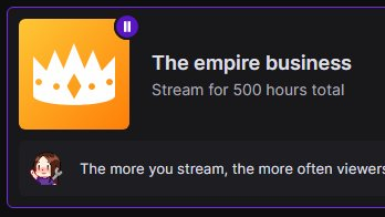 500 hours and so close to 250 followers!  https://t.co/pQOT0Z1LAS  #TwitchAffiliate #TwitchStreamer #TwitchANZ #SupportSmallStreamers #ContentCreator https://t.co/li4wXmNUTA