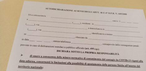 Torna l'autocertificazione per il Covid19, il modulo per Campania, Lazio e Lombardia - https://t.co/gKZYV52ORq #blogsicilia #22ottobre #covid19