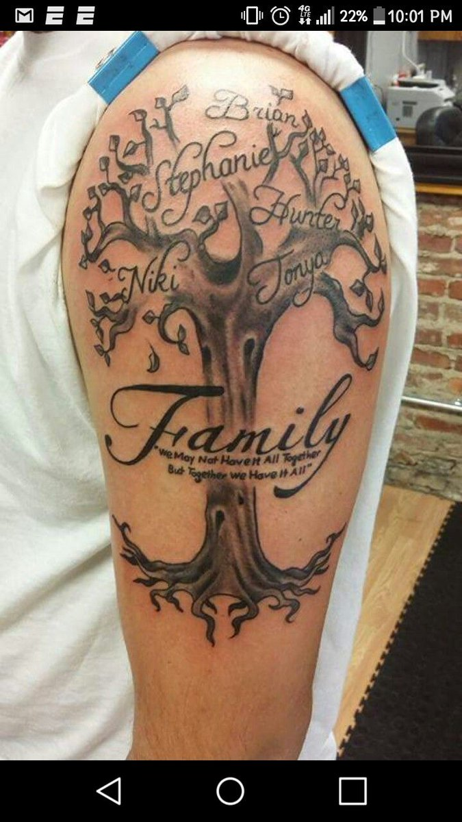 Family Tree Tattoo Design Ideas #14 - https://t.co/PMMXTGRO78 via @Planetoftattoos #planettattoos https://t.co/kqaP8JDej6