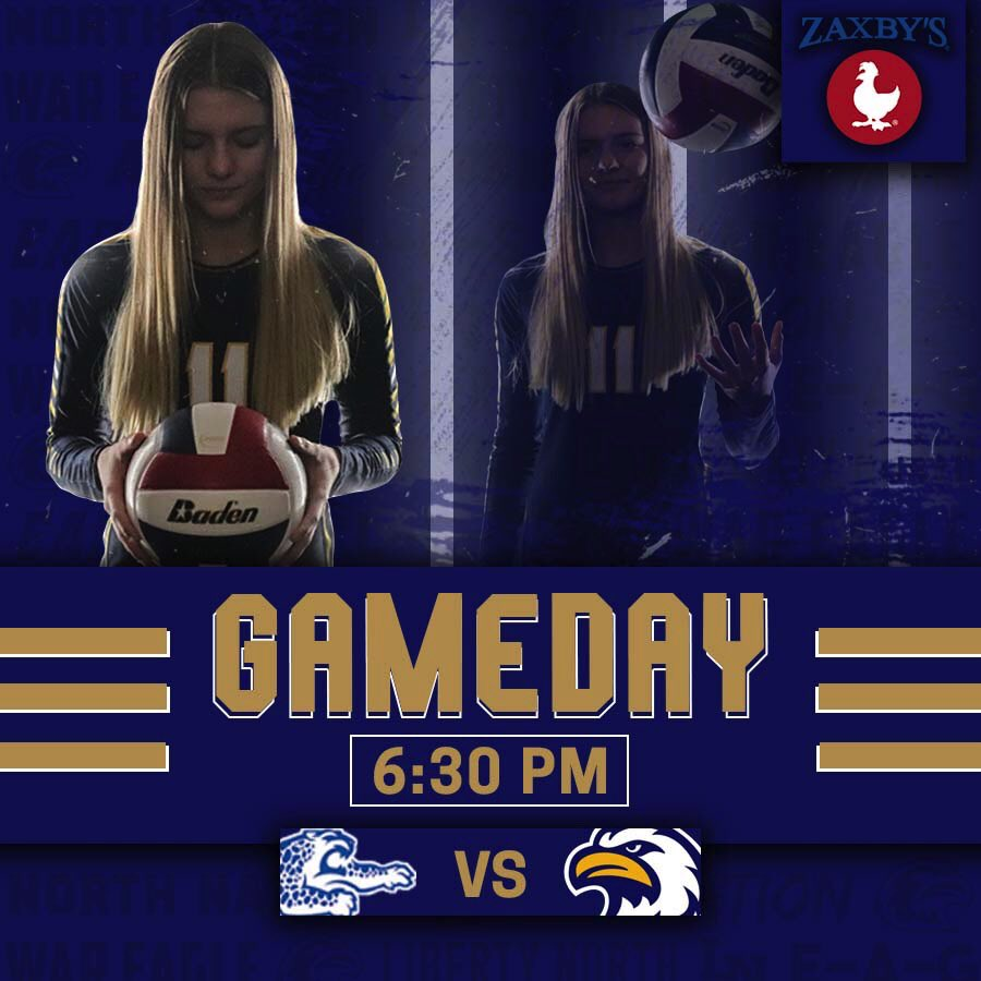GAMEDAY🏐🦅 Your Eagles take on Blue Springs South tonight in the LN Fieldhouse at 6:30 PM! Go Eagles!🦅#letsplay #gotime https://t.co/s4czgUhfFD