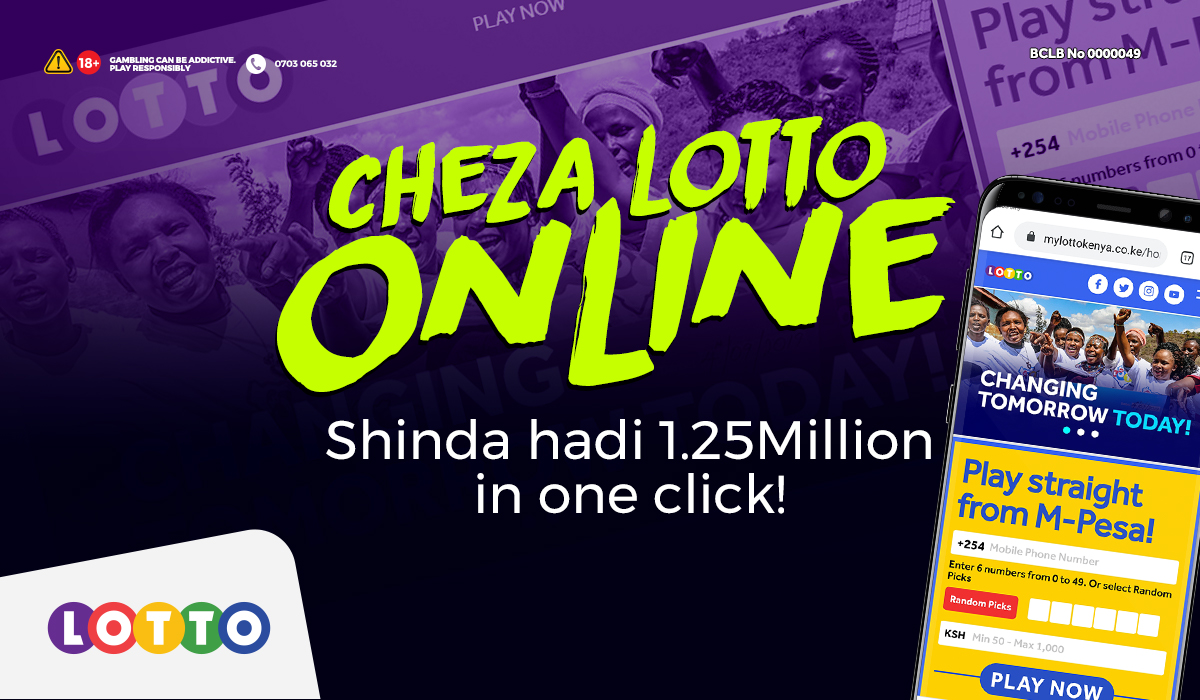 Kucheza ni instant, kushinda ni instant! Pata freedom ya kuchagua your own lucky numbers and bet amount! Play Lotto online at https://t.co/HOZrtW9JAZ to enter the 1.25Million Draw @10pm! #Playonline #Changamka #Chezalotto https://t.co/CtvTz80Ccw