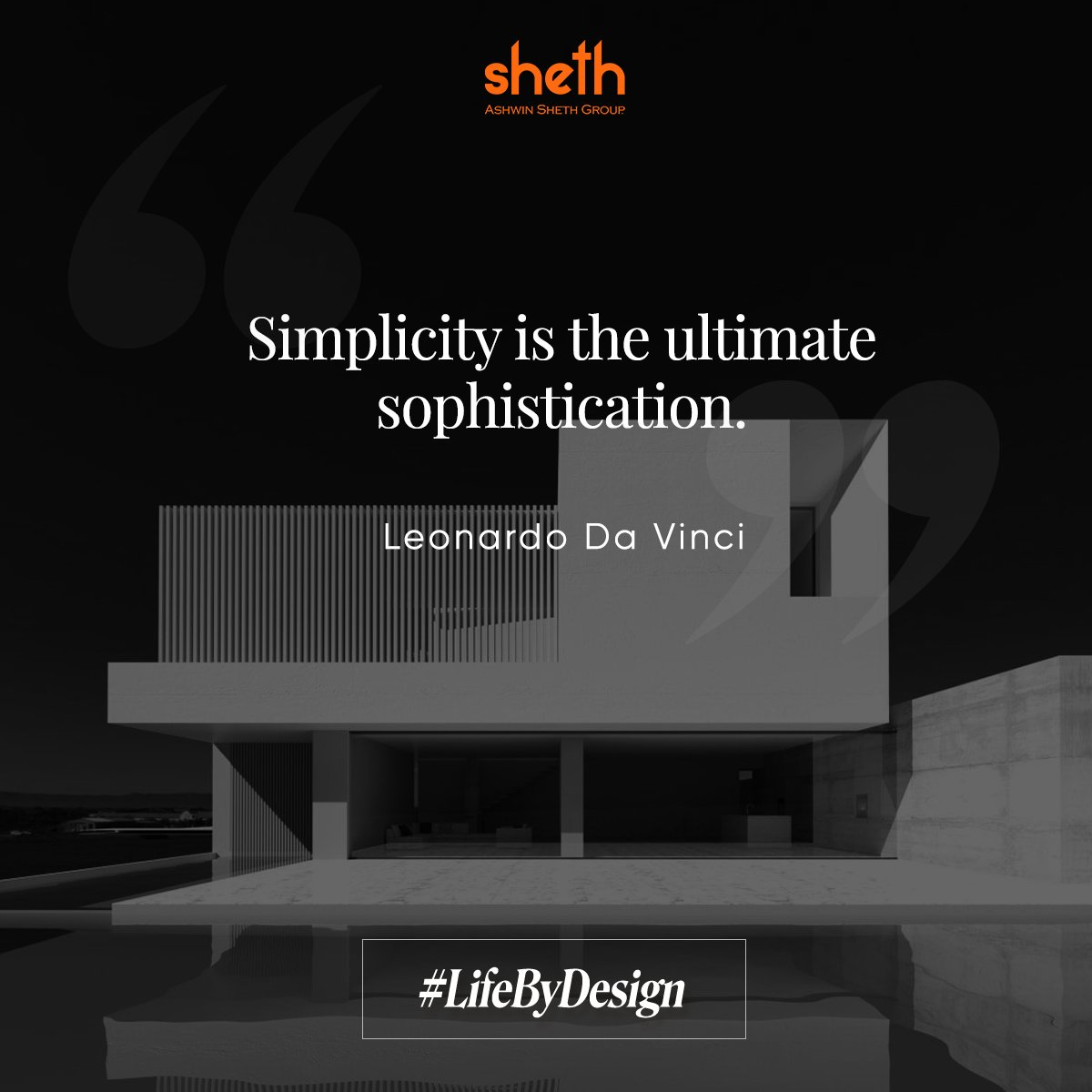 Our #LifeByDesign philosophy is in line with this belief by one of the greatest inventors and architects of all time.  #AshwinShethGroup #ASG #quote #home #design #dreamhome #realty #archigram #realtorlife #interiordesign #realestate #property https://t.co/fKCTou1Yrn
