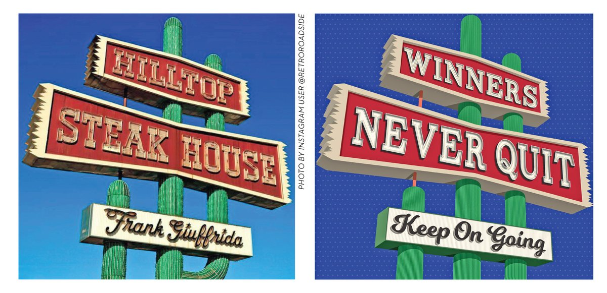 Energized by a virtual tour of Las Vegas' @NeonMuseum, New Zealand-based graphic designer Michelle Jordan responded to Instagram's #The100DayProject by recreating vintage signs with inspirational messages. https://t.co/2kj6HJLSqZ https://t.co/BEaXA8ma8e