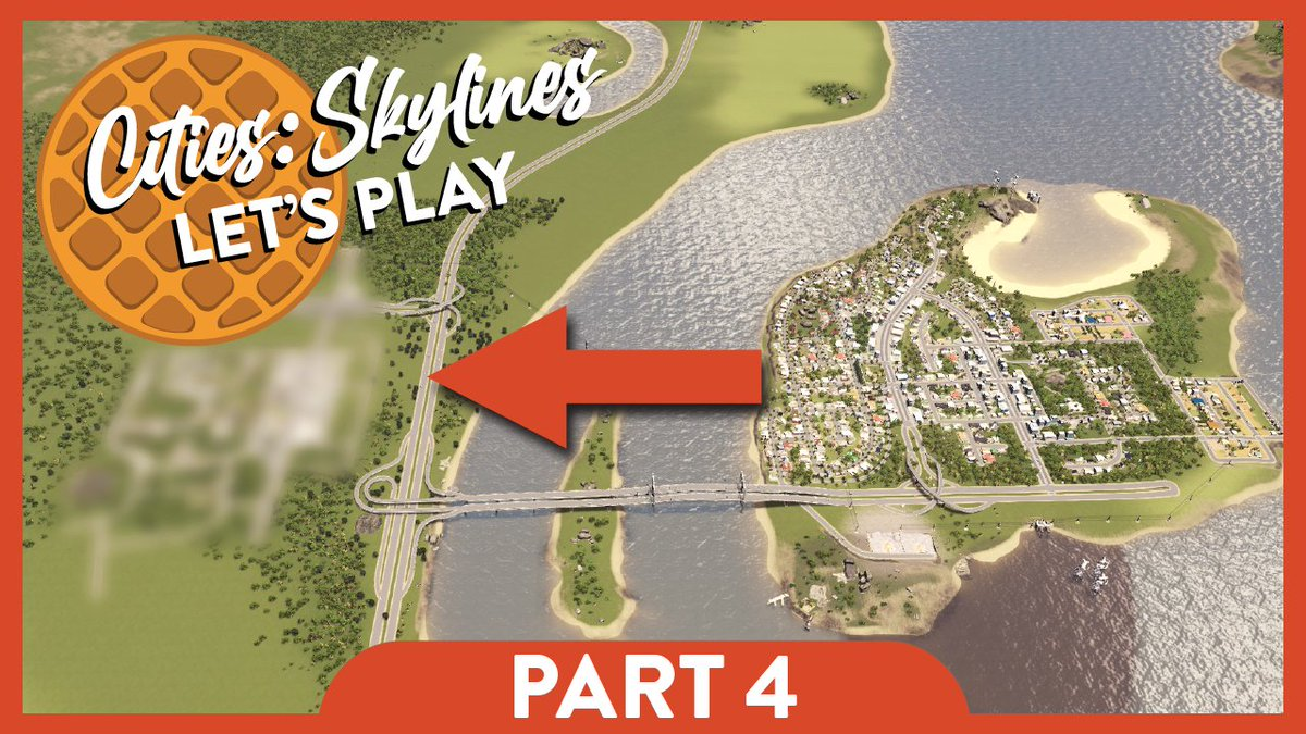 New neighborhood, who dis? Part 4 live now on #Youtube. #CitiesSkylines #youtubegaming #letsplay https://t.co/UqDnZB9JLW