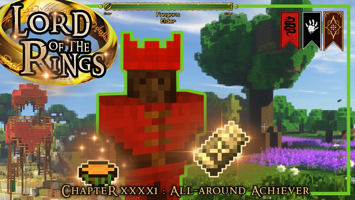"""Episode 42 """"Renegade Hunt🎯"""" will be online in little more than an hour! Enjoy #minecraft #minecraftlotr #lordoftherings #modded #letsplay #series https://t.co/UdGF9q3k3K"""