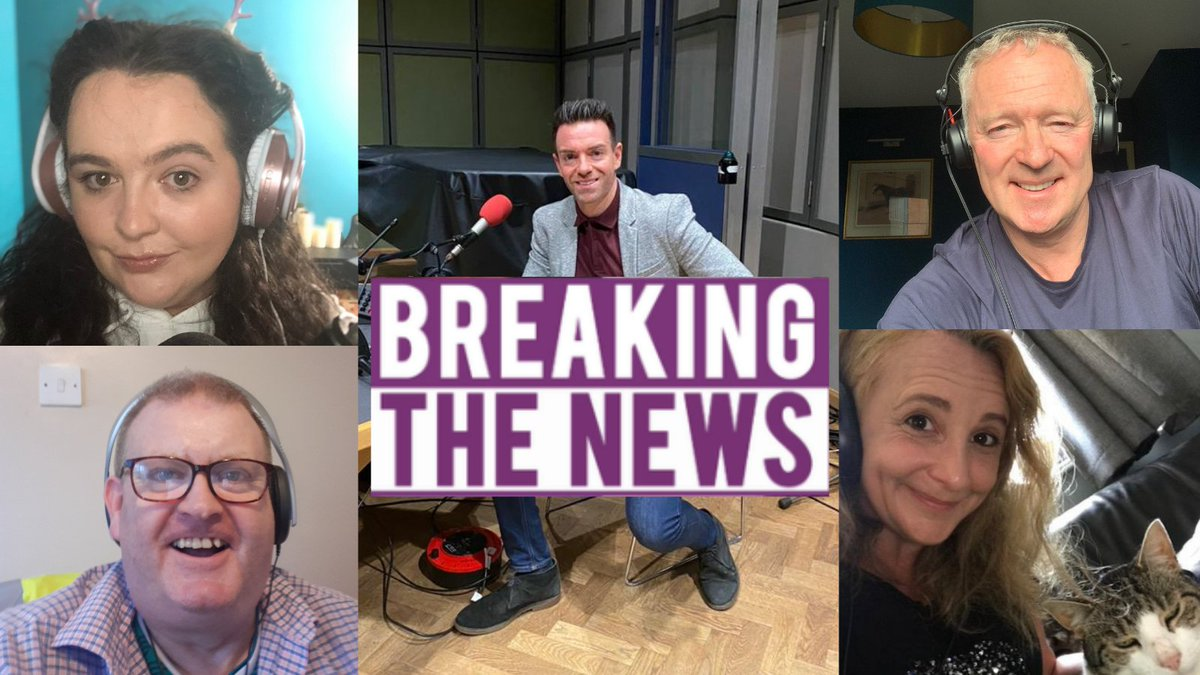 A sneak peak of the brilliant Breaking the News panel on your radio tomorrow... @ashleystorrie @RaymondMearns @rorybremner @lucyportercomic Subscribe on BBC Sounds so you dont miss out: bbc.in/3kmbImp @BBCRadioScot