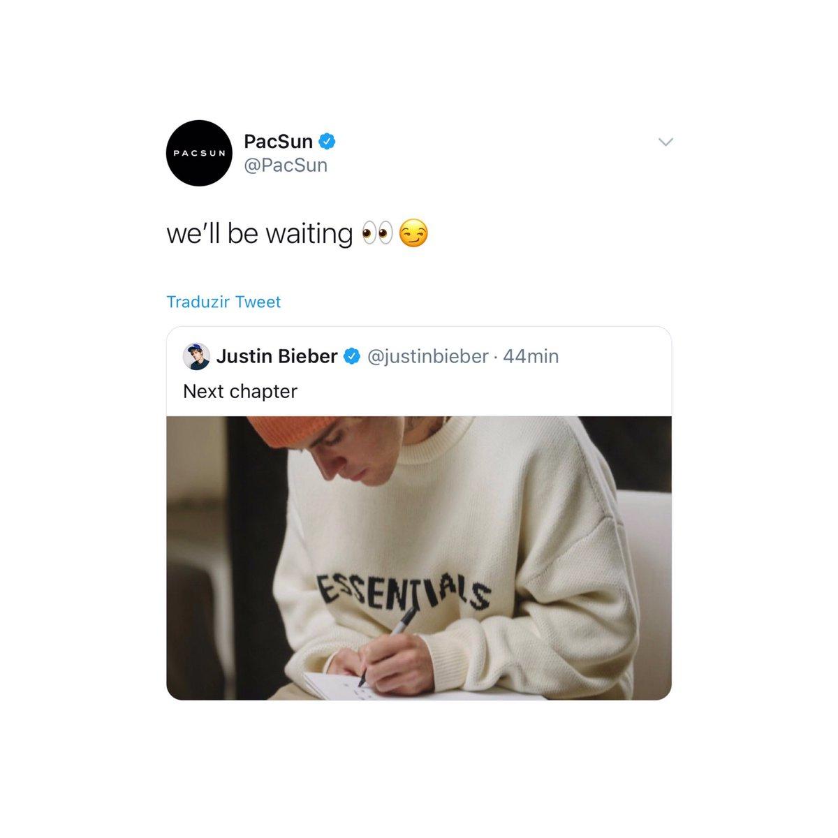 La marca que hizo la merch de PurposeTour citó el tweet de Justin.   SIEMPRE GANANDO JUSTINERAS https://t.co/rRdFMwA1qx