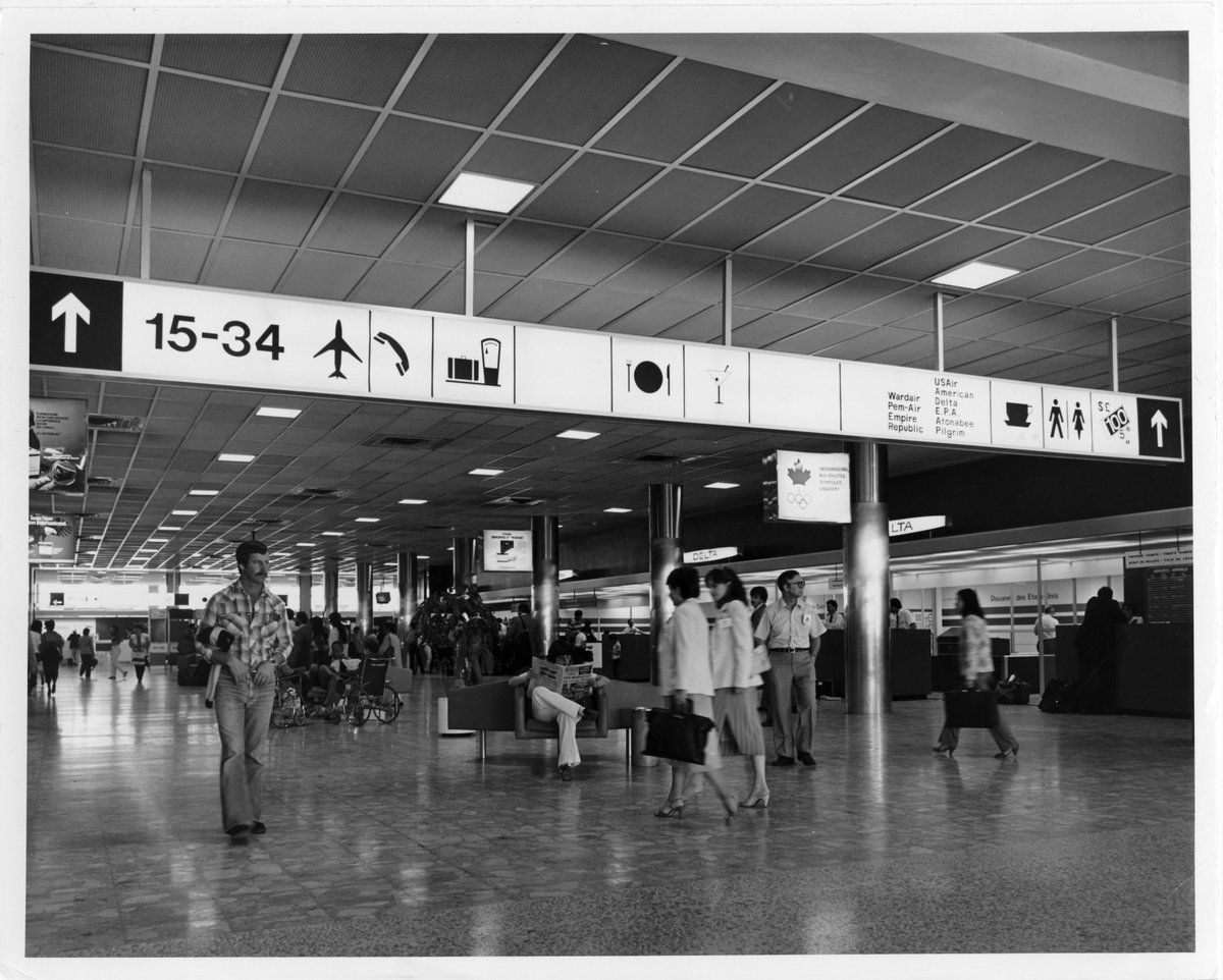 @FlyYOW @SanDiegoAirport @KCIAirport @FlyEIA @DallasLoveField @HfxStanfield @yvrairport @YWGairport @MCO @ATLairport @HeathrowAirport @Airport_FRA @YourSJAirport @FlyTPA @flyLAXairport Back in the days when we were reading our newspaper in paper edition in comfortable seating.   📰💺✈️  #TBThursday #airporttwitter https://t.co/tVoNaiyYWA