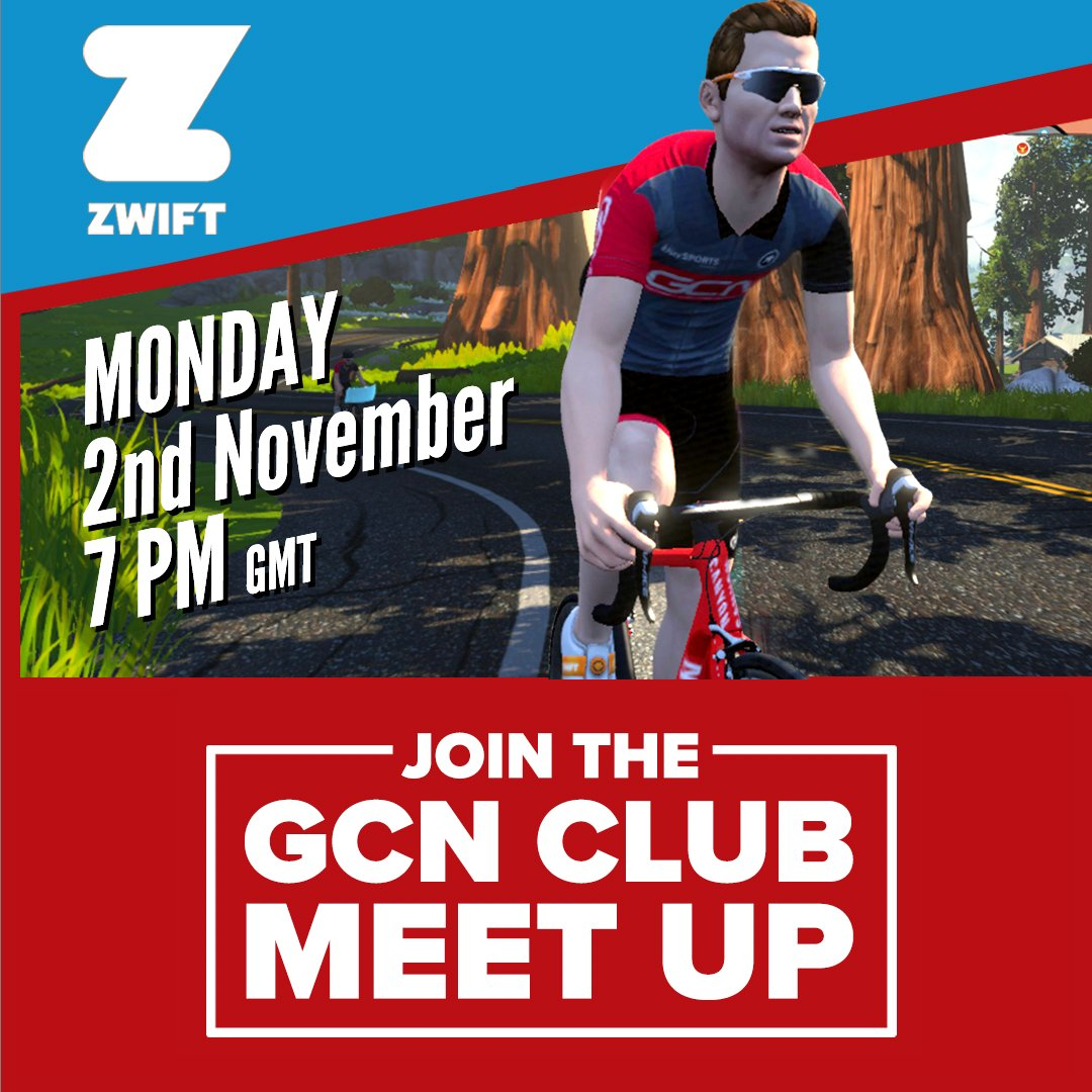 test Twitter Media - We're looking forward to our next exclusive Club Zwift ride  on 2nd November at 7pm (GMT).   If you want to join the ride then email news@gcnclub.com with your Zwift ID, Name, and email address so we can add you.⁠  #gcnclub #gcncc #gozwift ⁠ https://t.co/8M7mjFl81M