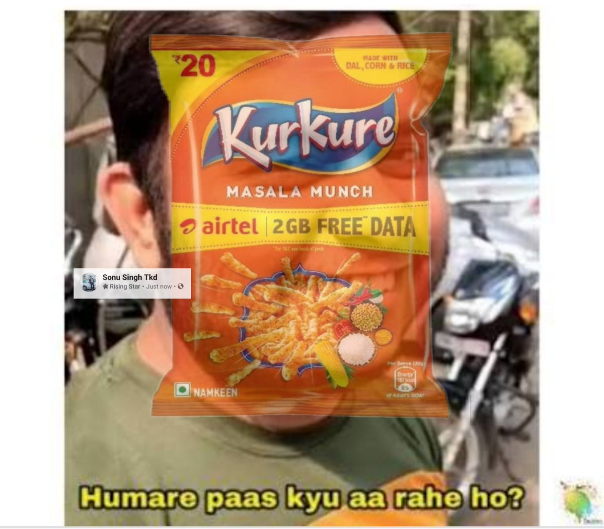 *23rd October Mirzapur 2 & Mi vs CSK exits on same day...!!  *Meanwhile Kurkure to Airtel users:-