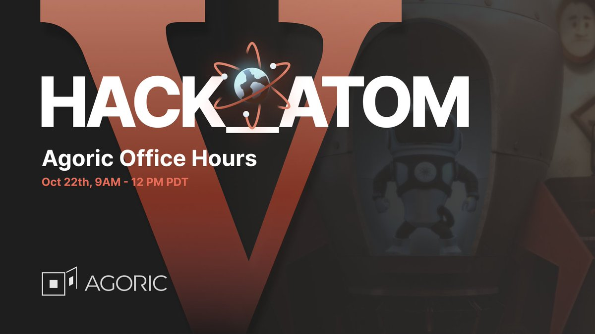 📢 Office Hours are LIVE w/ @rowlandgraus and @kate_sills for #HackAtomV @cosmos https://t.co/LEdZBcx3J9
