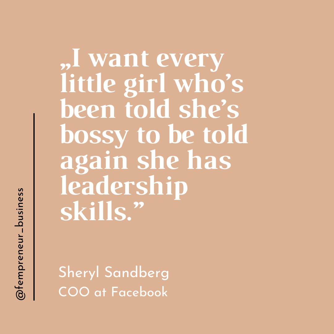 Being bossy means somebody's passionate, engaged, ambitious and doesn't mind leading. Period.  #bebossy #bossbabe #girlboss #bossbabequotes #betheboss #sherylsandberg https://t.co/n45J282jz1