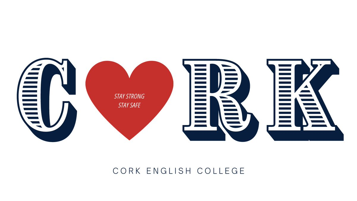 A message to all our friends across Cork City & County 📣 ⠀ ⠀ Stay Strong. Stay Safe ♥️⠀ ⠀ The CEC Team 💙⠀  #CorkEnglishCollege #CorkCity #PureCork #LoveCork #Ireland https://t.co/d6U8iQkxPM