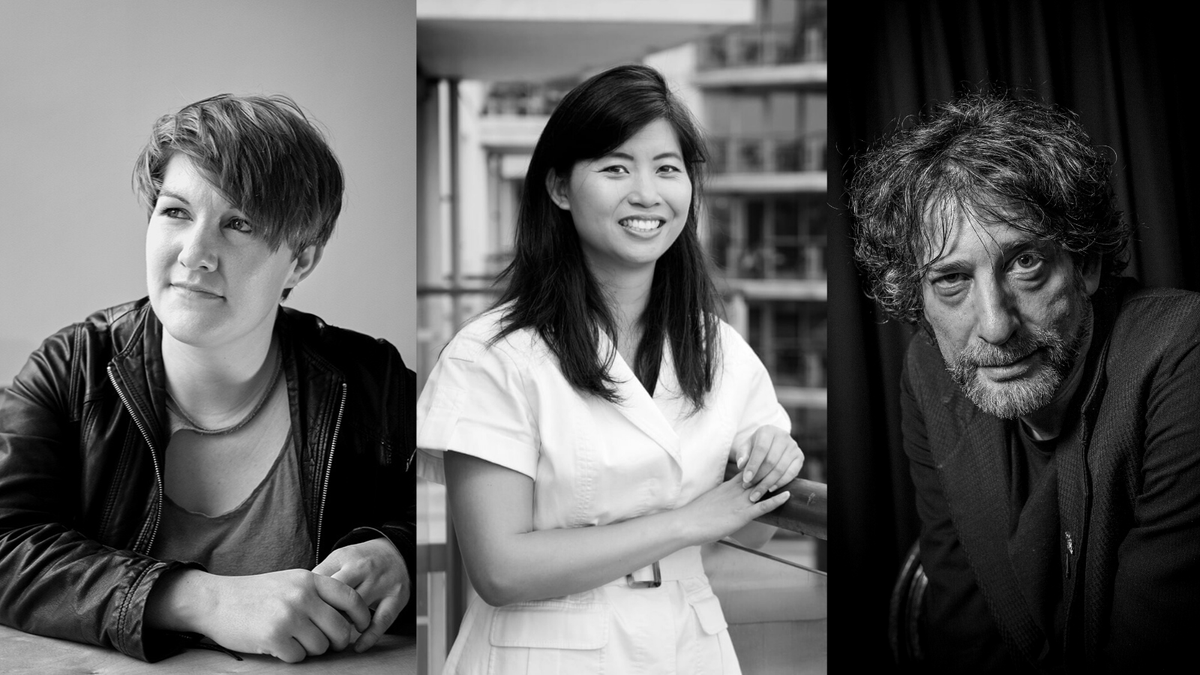 Coming up next week... 27 Oct, 19:00 - Poetry masterclass from @CarolineBirdUK Book: lght.ly/168pde 28 Oct, 19:15 - Reading and Q&A from @winniemli Book: lght.ly/7i5oaka 30 Oct, 19:15 - Reading and Q&A from @neilhimself Book: lght.ly/4ej2ne1