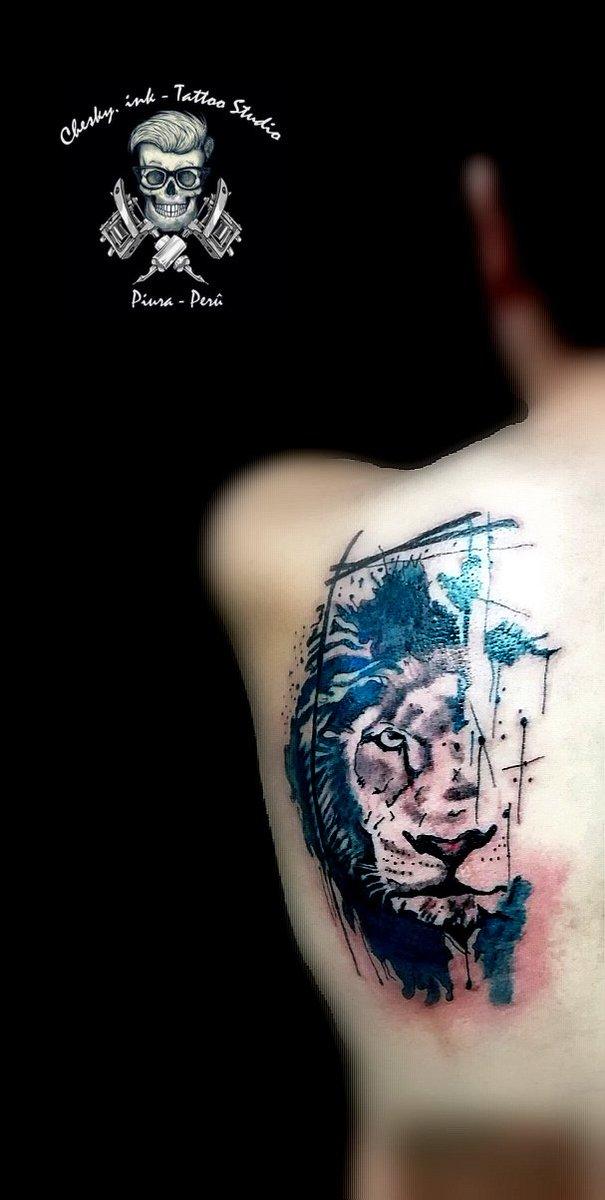 #tattooleón #cheskytattoo #cheskytattoopiura #tattoo #tatuajes #tatu https://t.co/wqKLi0Qv8N