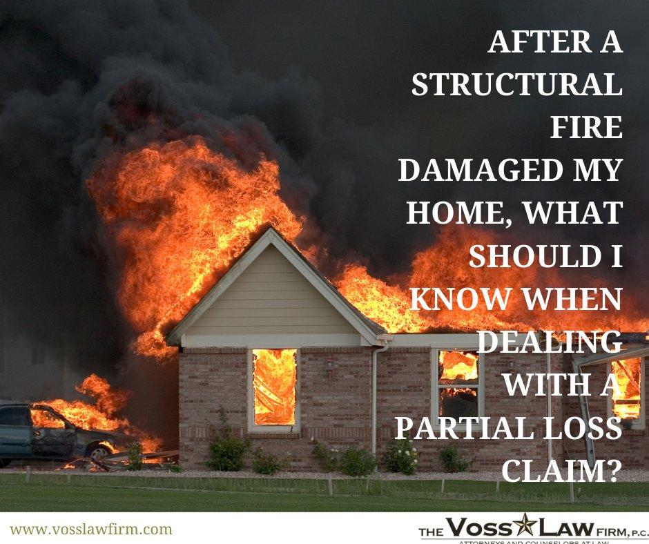 fire insurance claim
