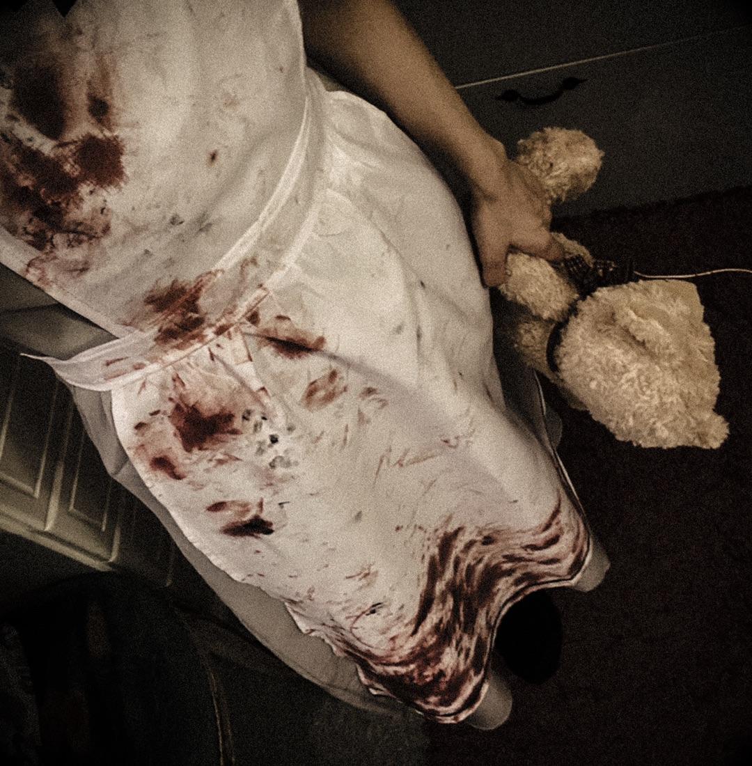 アメブロを投稿しました。【血糊注意⚠️】この前のハロウィーン放送のお写真を。#ハロウィーン#野水伊織