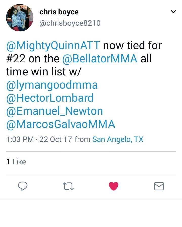 #tbt going to tell my son one day how daddy used to be pretty tough. #Bellator #MMA #americantopteam #winning https://t.co/NDaDXOAt19