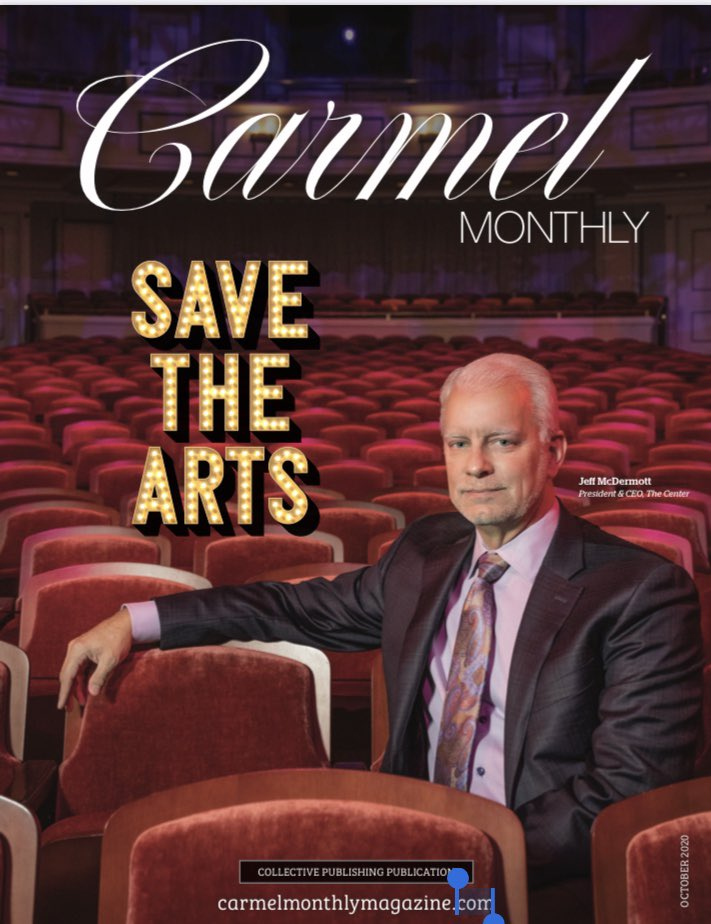 OCTOBER COVER REVEAL! We are proud to feature @CPApresents representing the Palladium and all of the resident companies on our cover this month! Stay tuned for the story drop!  #saveourstages #supporrthearts #supportlocal @CITYOFCARMELIN https://t.co/01slpoE6o9