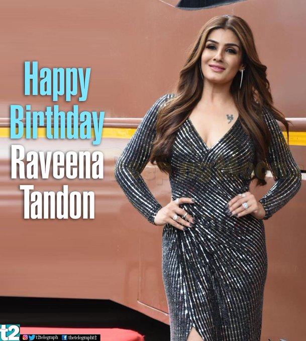 T2 wishes the always ravishing Raveena Tandon a very happy birthday!
