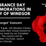 Image for the Tweet beginning: Our virtual Remembrance Day service