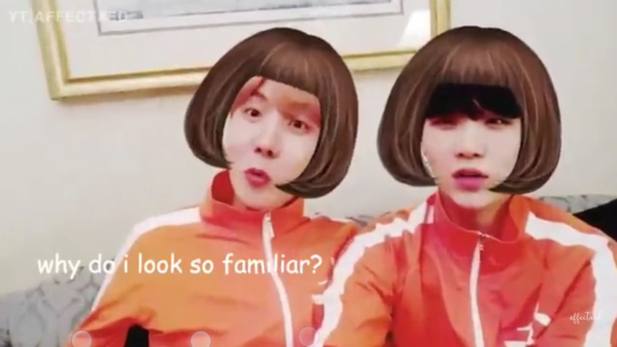 Im watching this again and hearing them say that the filters look familiar....and my mind goes..😂😂😂😂 #BTS #BTSARMY #sope #jhope #SUGA https://t.co/9wriyckaqt