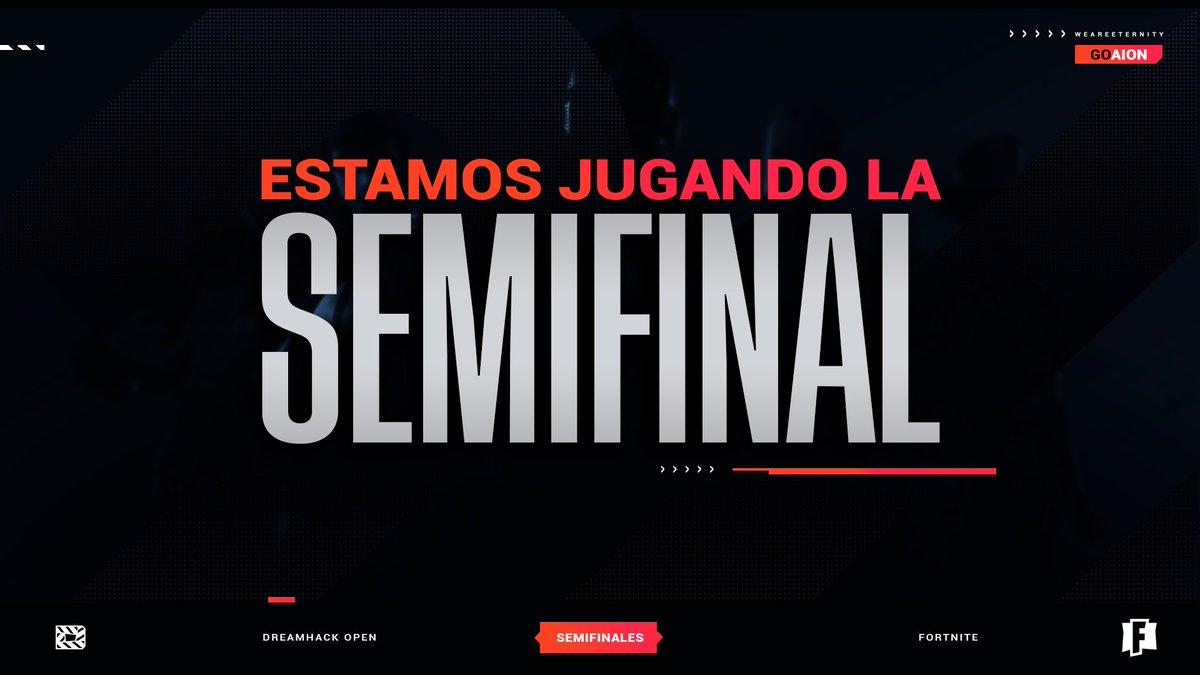Por si alguno anda con ganas de Fortnite temprano, está jugando Diego representando a AION 🇪🇸  Pueden verlo en su stream!   #GoAION🐍 · #WeAreEternity