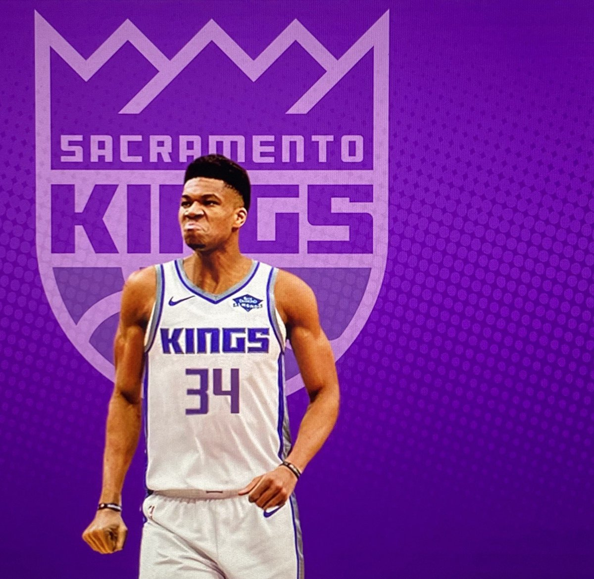 This Would be NASTY 😷👑  #Kings  #SacramentoProud https://t.co/FH0XrLTly6