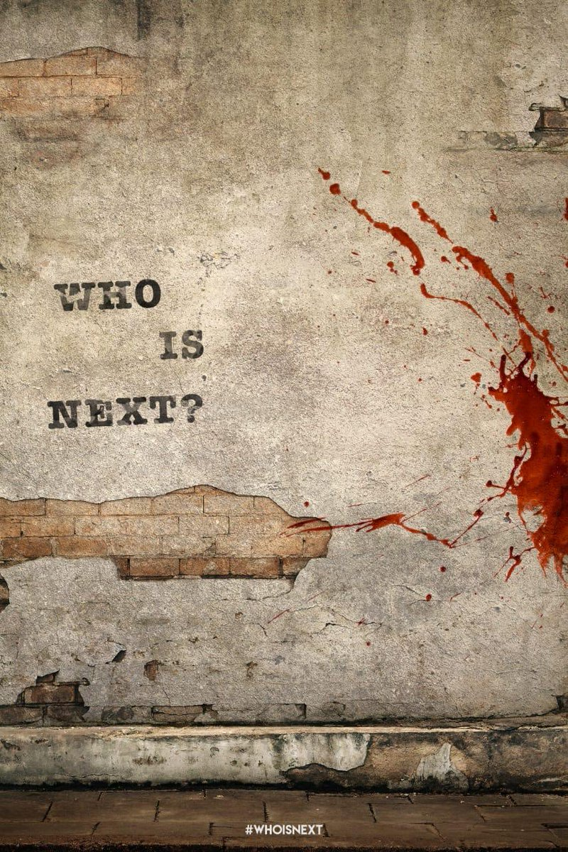Who Is Next?  #Victim ! #WhoIsNext ! #CineTimee ! https://t.co/12uxRF8tik