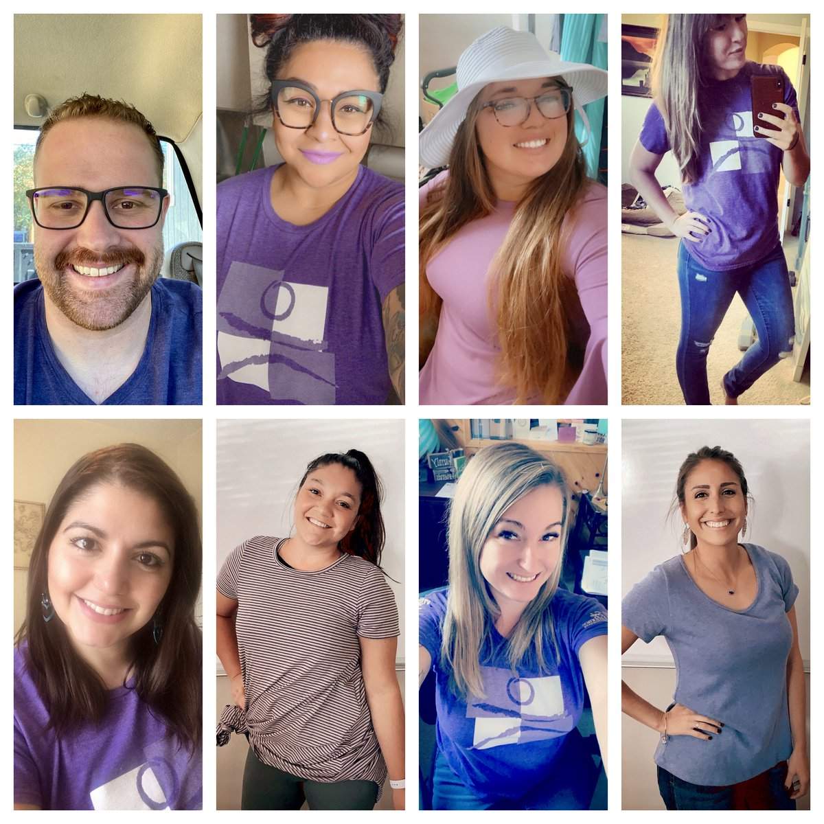 Purple Thursday is a day dedicated to showing support for survivors of domestic violence. Join us: wear purple, order purple @ a #LoveShouldBeSweet business, & share a purple pic using the hashtags #PurpleThursday #LoveShouldBeSweet #TellSomeone #ISpeakUp https://t.co/qFZpOHPjJW