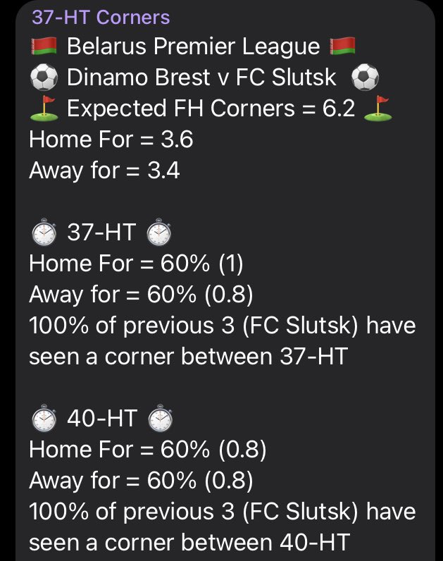 Late corner #tip  🇧🇾 Premier League 🇧🇾   Currently without any corners in the game and the scores at 1-1 https://t.co/U00PxEgaNe