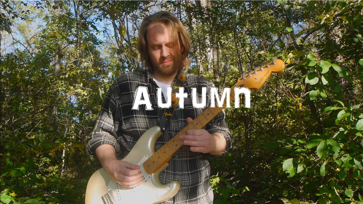 """New #outdoor #liveloop #musicvideo on my @YouTube channel called """"Autumn"""" Played in one take with my @fender Strat and a loop pedal.  https://t.co/OfcS9H8uUq  Check it out!  #music #musicproducer #MusicMonday #musicproduction #guitar #guitarist #fender #rock #musician #musicians https://t.co/yO1F2ntTvo"""