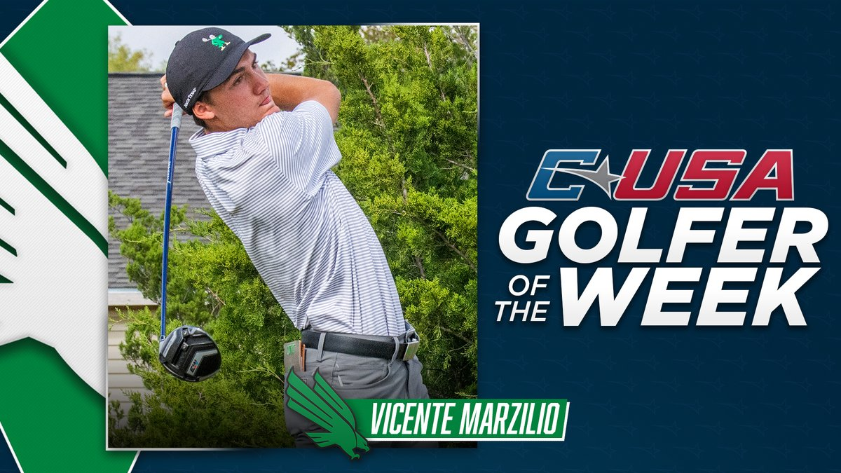 📢: Congratulations to @meangreengolf's Vicente Marzilio, #CUSAGOLF Men's Golfer of the week!🏌️  🏅1️⃣ https://t.co/mDlodvVEUS