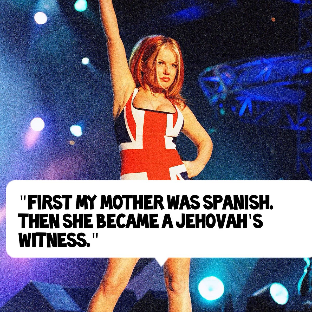 It's been a rough time for Ginger Spice's mother.   #dumb #quotes #spanish #jehovahswitnesses #spicegirls #gingerspice #coolbritannia #quotes #celebrity https://t.co/5yQOrJTM1o