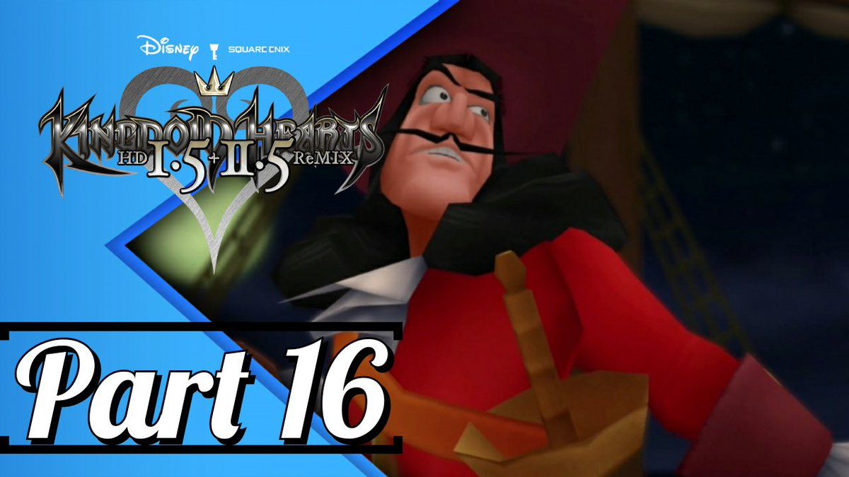 #KingdomHearts HD 1.5+2.5 Remix #Walkthrough #Gameplay Part 16 #CaptainHook Boss(#KH1) https://t.co/nmI2zM11eP via @YouTubeGaming @YouTube @KINGDOMHEARTS #KingdomHeartsRemix #WaltDisney #Disney #smallyoutubercommunity #SmallYouTuberArmy #YouTuber #YouTube #gaming #gamingcommunity https://t.co/uJNpeJiykt