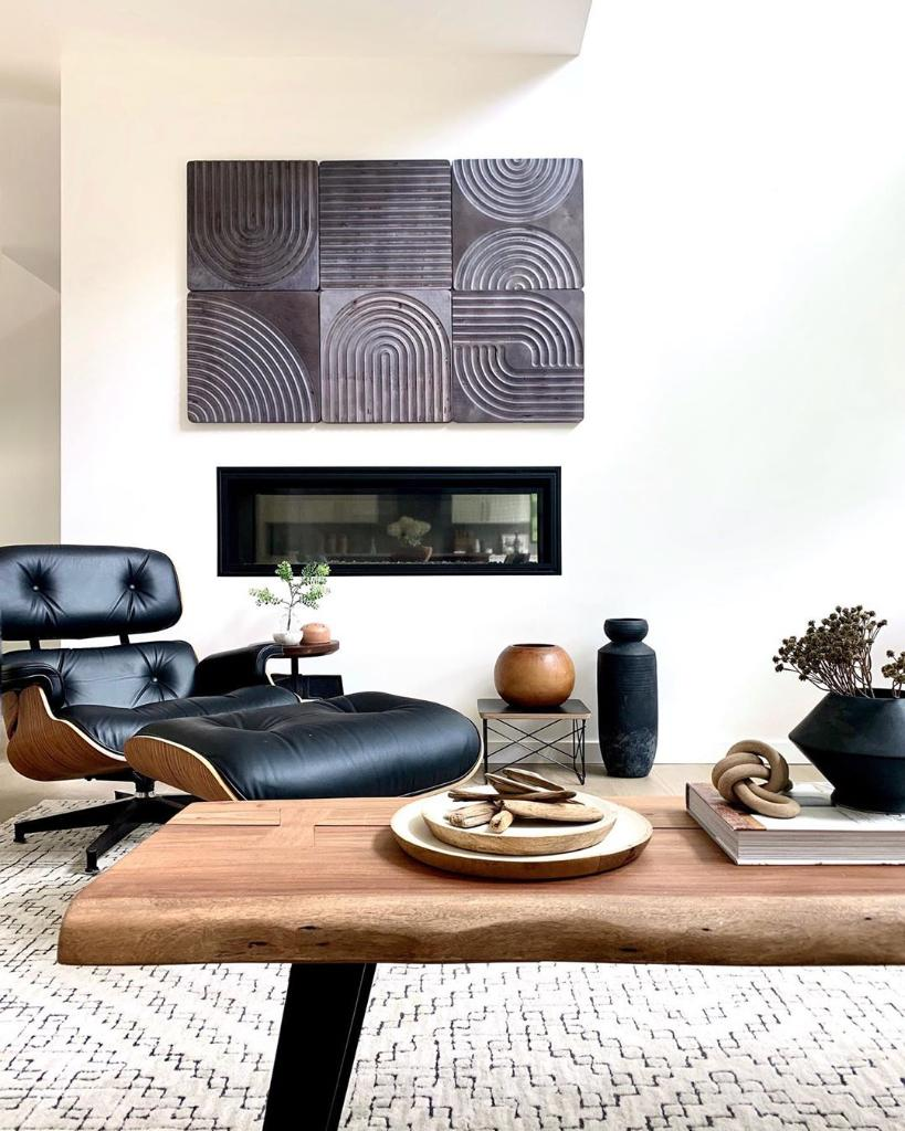 Fall temps + fireplaces, Eames Lounge Chair and Ottoman + Eames Wire Base Low Table ... Some things are just the perfect pair, wouldn't you say? https://t.co/q2WFYoU6K1 #HMatHome Photo: simplymodernliving https://t.co/lLZqcFrZxl
