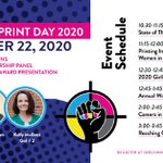 Image for the Tweet beginning: Happy Girls Who Print Day!