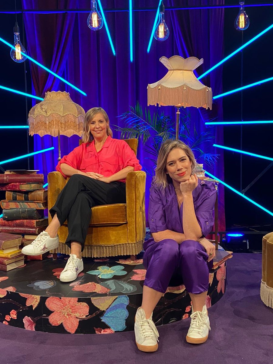 Mel Giedroyc's 'Unforgivable' coming to @davechannel soon. You know what's really unforgivable? How cute we look.