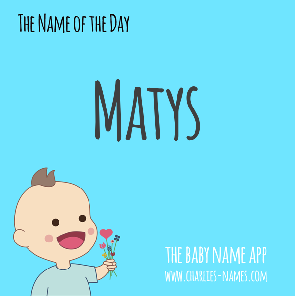 #Matys - the #babyname of the day! See more beautiful #babynames:  iPhone: https://t.co/nZiHGEdmJb Android: https://t.co/zNHsUAzN5b #name #names #nameideas #namesearch #pregnant #baby #parenting #Matys #boynames #boyname #babyboy #boymom https://t.co/6hKpWYW4vF