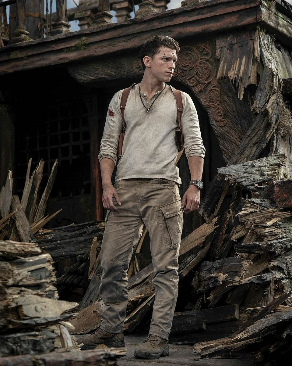 Voici Nathan Drake.  De Wish.  (Je n'adhère pas du tout au choix de l'acteur et de la création de ce film. Mais pas du tout si vous l'avez pas encore compris.)  #Uncharted #UnchartedMovie #NotMyUncharted https://t.co/yyhhnTqM6p